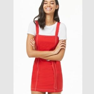 Forever 21 Contrast-Stitch Bodycon Dress
